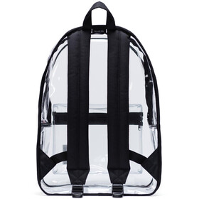 Herschel Classic X-Large Backpack black/clear